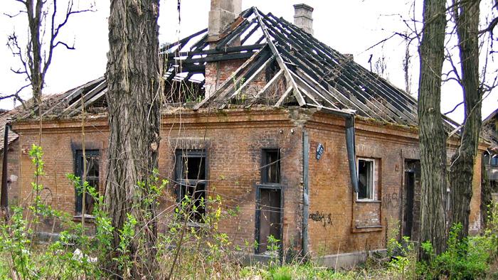 Ostaci zgrade u sklopu Bubare