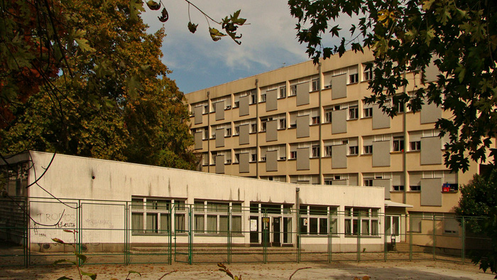 "Paviljon i društveni prostori studentskog doma ""Dr. Ante Starčević"" (ex-""Šara"") [GP 2013.]"