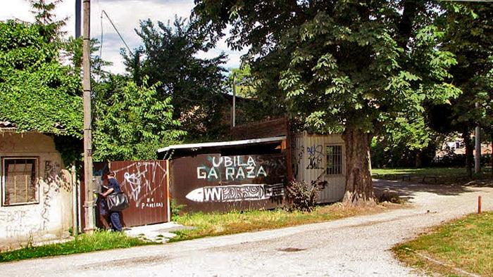 Grafiti na garaži