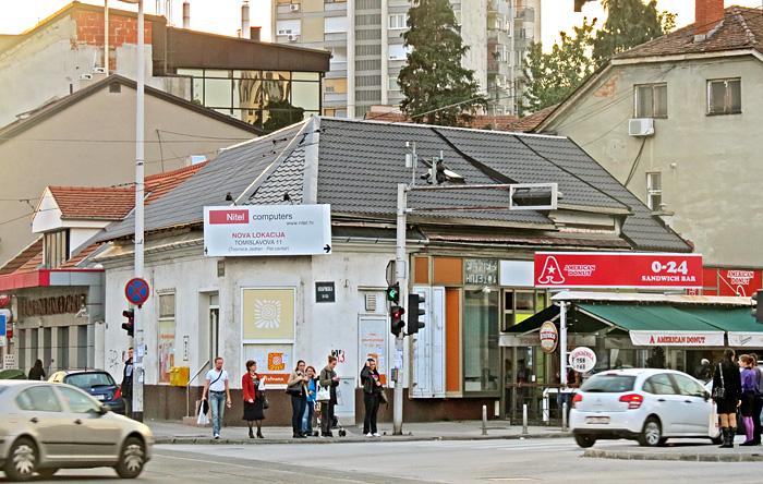 Mjesto nekada drugog najstarijeg kineskog restorana u Krapinskoj ulici [VR 2013.]