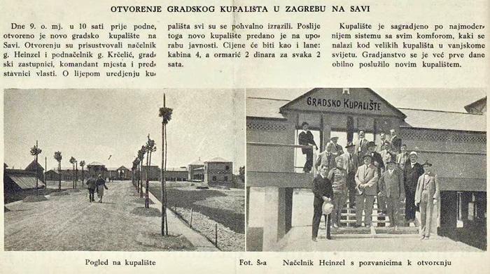 """Izrezak iz """"Svijeta"""" iz 1928. godine [VT]"""
