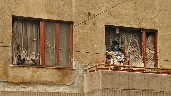 Stan u Tratinskoj 62 pretrpan smećem neodgovornog stanara [GP 2013.]