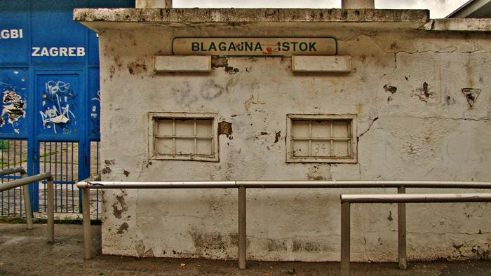 Prostor blagajni i ulaza na stadion NK Zagreb u Kranjčevićevoj ulici [GP 2012.]