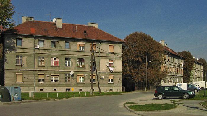 """""""Gradske kuće"""" u Meršićevoj ulici [GP 2007.]"""