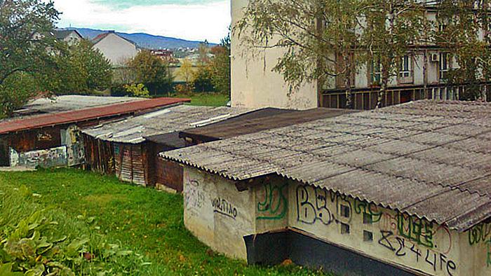 Zbrda-zdola izgradnja garaža uz potok Kustošak i Voltino naselje [SP 2013.]