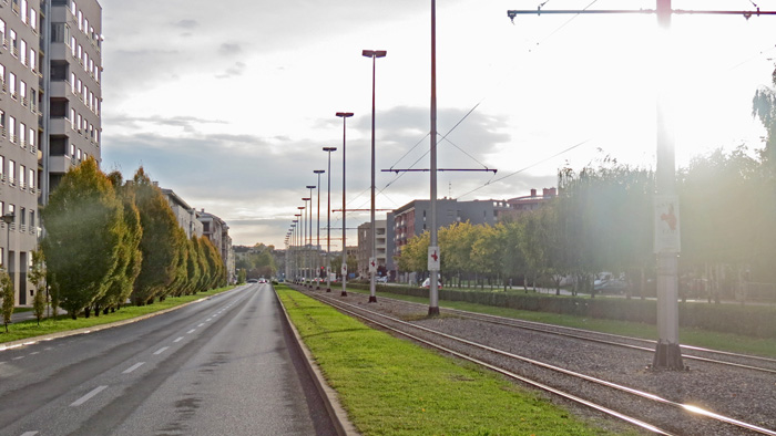 Horvaćanska cesta u zoni Vrbana [VR 2013.]