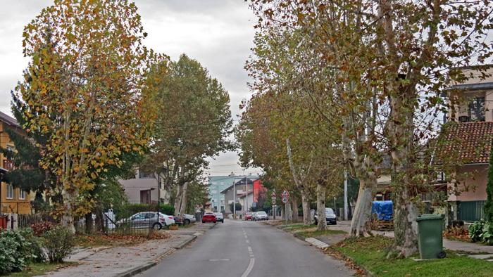Ulica Jarun - stari dio [VR 2013.]