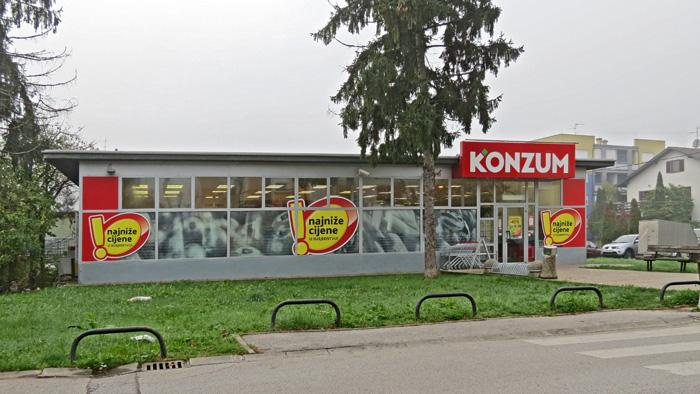 Preuređena stara trgovina u Aninoj ulici - Rudeš [VR 2013.]
