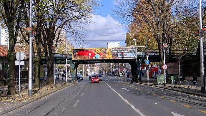 Nadvožnjak Savska cesta – Crnatkova ulica, pogled s juga [MS 2013.]