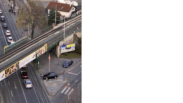 Nadvožnjak Savska cesta – Koturaška ulica, pogled s visine [MS 2013.]
