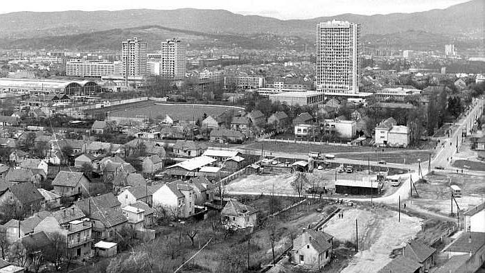 Stanje križanja iz 1969. – pogled s juga [Drago Lipić 1967.]