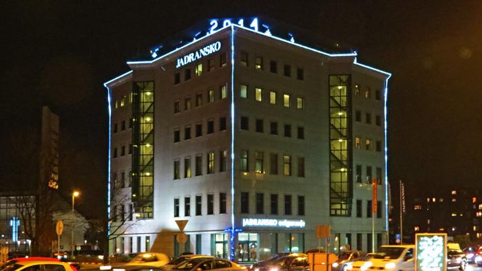 Zgrada Jadranskog osiguranja u Adventu [VR 2013.]