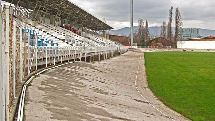 Jedinstveni ciklodrom oko igrališta na stadionu u Kranjčevićevoj ulici [GP 2014.]