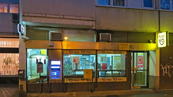 Pošta u Prečkom u Ulici Marijane Radev [VR 2014.]