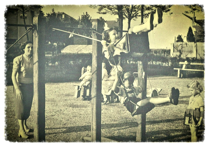 Park Stara Trešnjevka 1955. [MH]