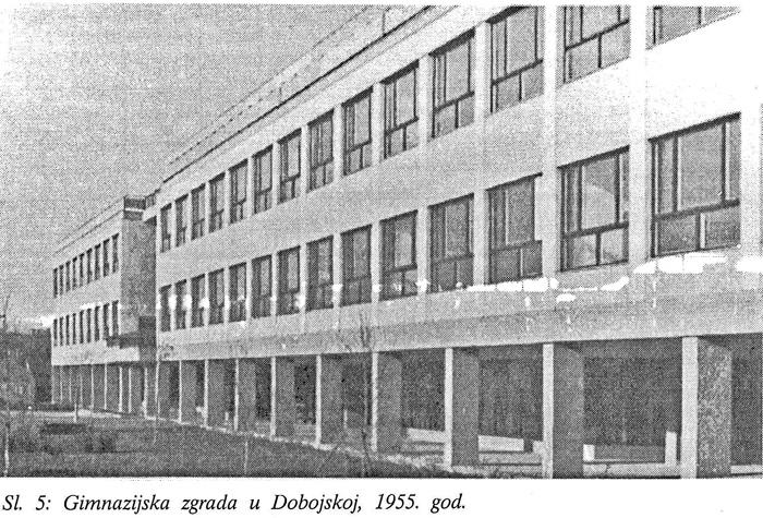 Zgrada IX. gimnazije - preneseno iz zbornika 50-godišnjice
