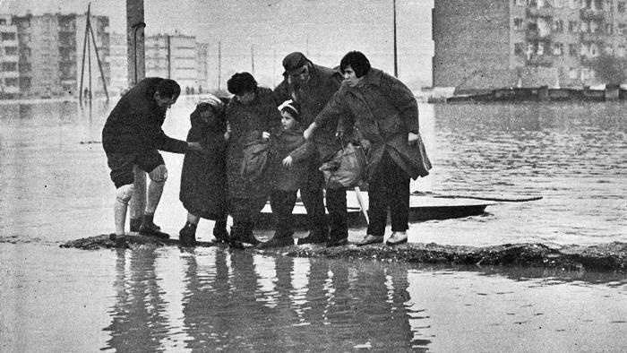 Poplava 1964. - Evakuacija