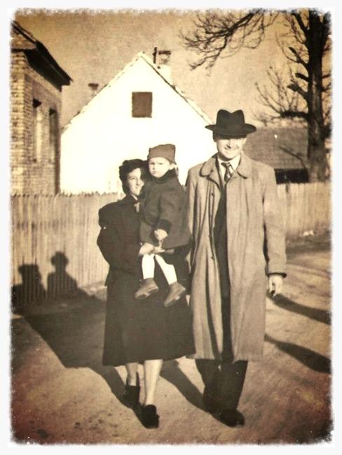 Obitelj Šantek u Rudešu 50-ih