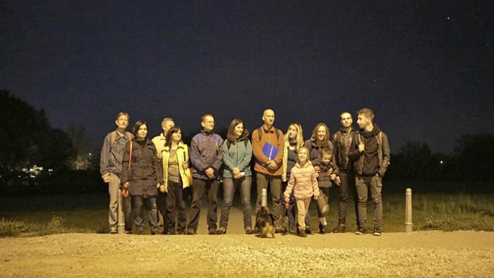 Zajednička fotka sudionika na kraju šetnje u Vrbanima [BT 2014.]