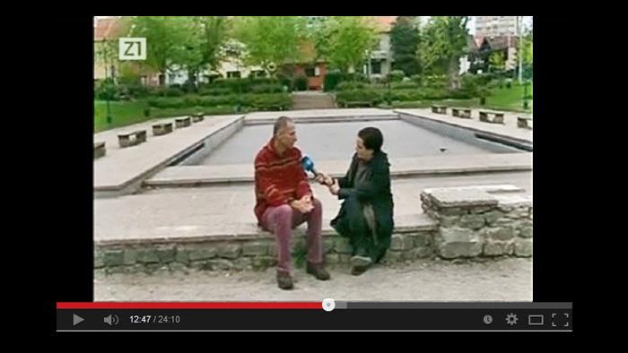 """Scena iz TV-emisije """"Kvartura"""" o """"Mapiranju Trešnjevke"""" [GP 2014.]"""