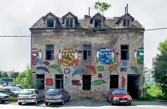 Oslikana ruina na Novoj cesti [SP 2014.]