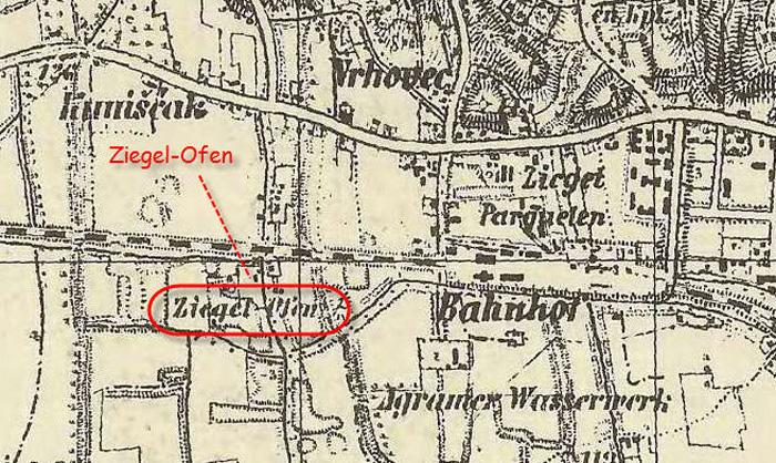 Vojna karta iz 1869-1887. [MS 2014.]