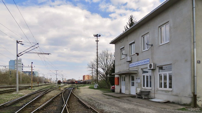 Zapadni prilaz području Zapadnog kolodvora [VR 2015.]
