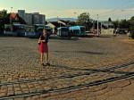 """Okretište tramvaja i autobusni terminal Savski most """"popločen"""" granitnim kockama [GP 2015.]"""