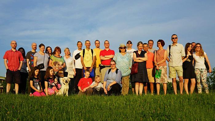 Sudionici šetnje po Prečkom [SĐ 2015.]