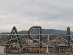"""Panoramski pogled s najvišeg kata hotela """"Panorama"""" prema sjeveru [GP 2015.]"""