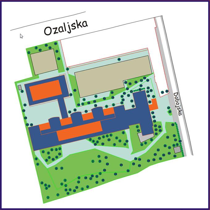 """Rad učenika gimnazije: """"Drveće i grmlje naše škole"""" [IR 2015.]"""