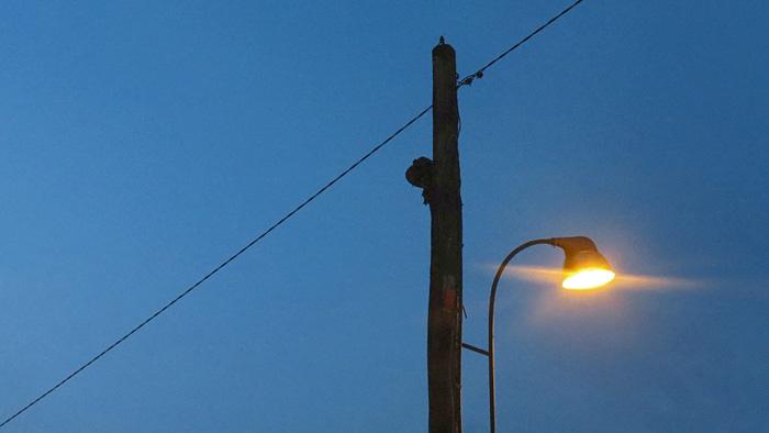 Svjetiljka javne rasvjete na početku Ulice grada Vukovara [VR 2016.]