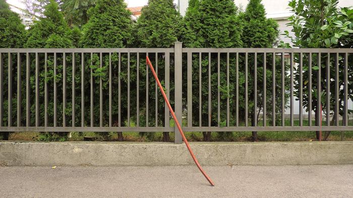 """""""Uređaj"""" samoproglašenog rezerviranja parkirnog mjesta """"pred vlastitom kućom"""" u Ogulinskoj ulici [GP 2016.]"""